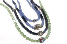 handmade crystal necklaces