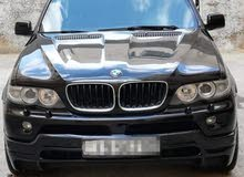 لون اسود BMW x5 2005.. 3.0
