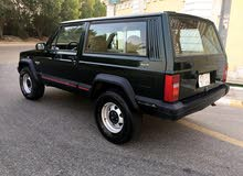 Manual Green Jeep 1996 for sale