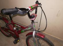 دراجه هوائية مستعمل اقل من شهر بحالة ممتازة... جنط 20  قابل للتفاوض