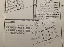 ارض للبيع في ضنك وادي فدى جاهزه للبناء