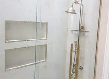 aluminium and glass