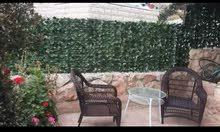 شبك جداري عشبي مناسب للأسوار والجدران والبلكونات طول 3 متر بعرض متر بسعر 15