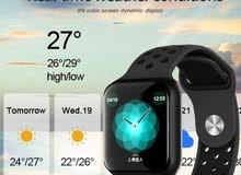 F8 Smart Watch أسود ر ip67