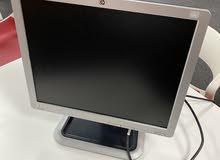 للبيع شاشه كمبيوتر مكتبي hp L1710