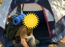 شنتة  خضراء اوروبية للتخييم او للمسير Green backpack for camping & hiking