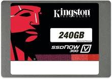 هارد نوع كينجستون SSD  سعة 240 جيجابايت