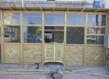 قسم خارجي من مطعم للإيجار للمشاوي والشاورما في حي الاندلس على الرئيسي