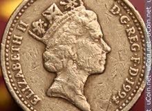 عملة معدنية بريطانية قيمة