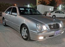 condition Mercedes Benz E 230  with  km mileage