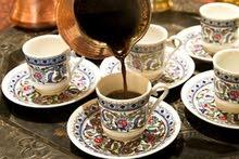 أطقم فناحين قهوة صناعة تركية اصلية