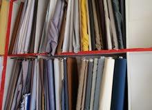 محل خياطة رجالي للبيع