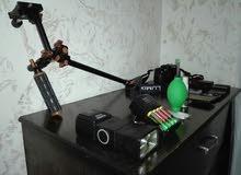 معدات تصوير للبيع بسعر حرق 700دينار