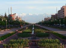أرض 2000 متر مربع شارع محمد السادس مراكش