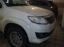 For sale 2012 White Fortuner