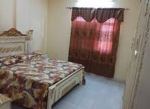 شقة للايجار غرفتين وصاله وحمامين ومطبخ كامل كافوري مربع3