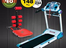National Day OFFER - Motorized Treadmill with AB Rocker