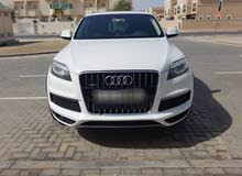 Audi Q7 GCC 2013 model S-Line Quattro Supercharged