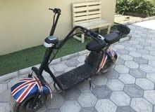 دراجة كهربائية مستخدمة