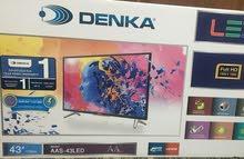 شاشة دنكا حجم 43 جديدة غير مستعملة للبيع