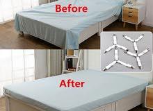 4pcs / set Bed Cover Clip Bed Cover Buckle Belt Mattress Elastic Non-slip Clip B