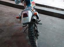 دراجة ياماها شصي ياباني عليه محرك صيني 150ccالدراجه ماشاء الله عليها سلف اضويه م