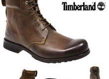 ( Timberland  تمبرلاند ) تشكيلة أحذية جلد طبيعي / مقاسات كبيرة