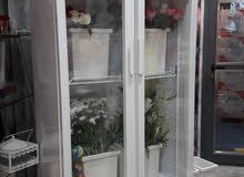 براد زجاج بابين مستعمل شهر فقط