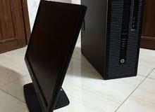 كمبيوتر HP I7-4770 + كرت شاشه 2 جيجا DDR5
