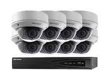 كاميرات مراقبة امنية مع التركيب والضمان والجودة