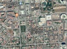 ارض فيلا 280 متر حي الرياض الرباط