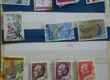 مجموعة طوابع بريدية