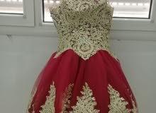 فستان مستعمل ل مره واحده