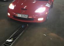 For sale 2011 Red Corvette