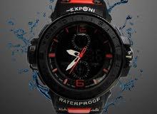 ساعات ضد الماء ماركة EXPONI وماركة one time