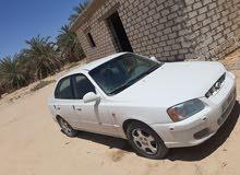 سيارة فيرنا المحرك تبارك الله  تومتك سارية عجل ممتازة  تكييف ممتاز الهيكل ممتاز فيها ازوق