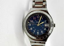 ساعة swatch سواتش أصلية وعالفحص شغالة100%