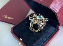 Cartier Panthére de cartier Tsavorite Garnets Onyx