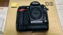 Nikon D3 فل فريم مع عدسه 24-120 مع فلاش SP 900