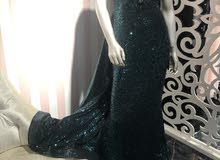 فستان خطبة ( سهرة) بحالة ممتازة للبيع