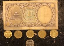 عملات قديمة جميعها مع بعض بسعر 300 جنيه
