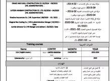 مشرف / مدير موارد بشرية خبرة 6 سنوات فالمجال