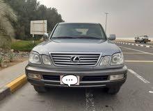 لكزس ال اكس 470 موديل 2002 وارد امريكا مسجلة بالدولة فل مواصفات رقم واحد