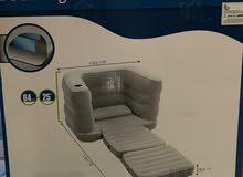 مرتبة نفخ هواء مفردة من Bestway  إمكانية تحويلها إلى كنبة تصلح في كل الأماكن داخ