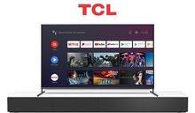 شاشة سمارتTcl  4k  جديدة من افضل انواع