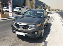 Kia Sorento in good condition, with Sunroof and Leather chairs,  For Sale, Mileage 88000 KM