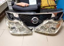 Nissan Patrol Car front and back lamps with front grill.