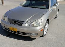 Used condition Lexus GS 2002 with +200,000 km mileage