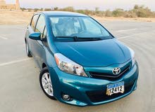 Turquoise Toyota Yaris 2013 for sale