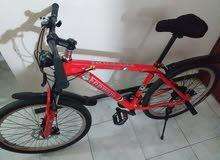 دراجه هوائيه فراري 26 بوصه وخفيف وزن مستخدم 30 يوم